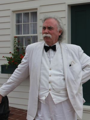 Mark Twain Himself Entertainer for Hire